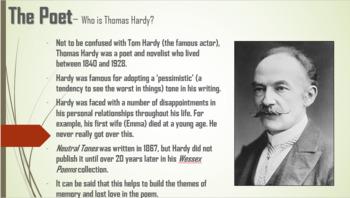 Neutral Tones - Thomas Hardy