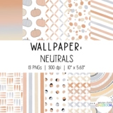 Neutral Wallpaper & Slide Backgrounds