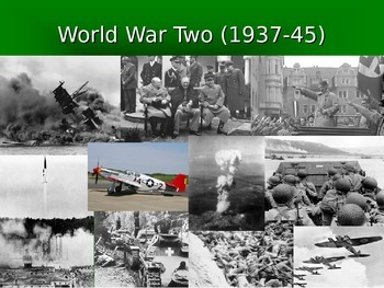 Neutrality and World War II PowerPoint