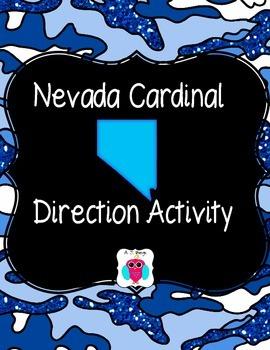 Nevada Cardinal Directions Activity