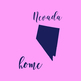 Nevada Clipart, USA State Vector Clipart, Nevada Home, Gold US Clipart