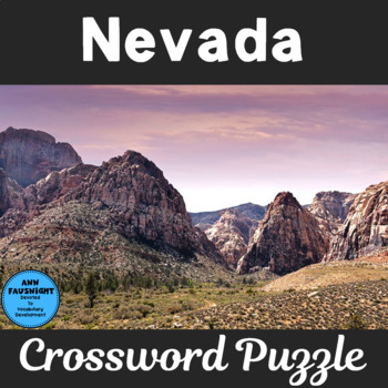 Nevada Crossword Puzzle