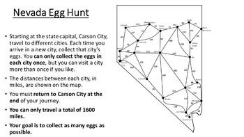 Nevada Easter Math Activity