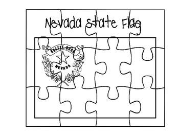 Nevada Flag Puzzle