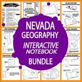 Nevada Geography Interactive Bundle–NINE Literacy-Based Nevada History Lessons
