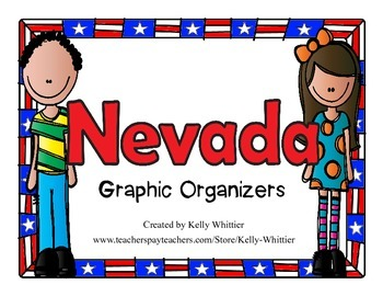 Nevada Graphic Organizers (Perfect for KWL charts and geography!)