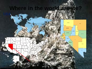 Nevada History Part I
