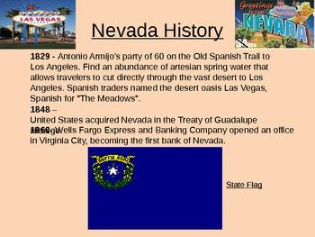 Nevada History power point