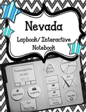 Nevada State Lapbook/Interactive Notebook.  US State Histo