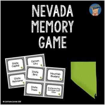 Nevada Memory Game