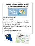 Nevada Points of Interest Travel Brochure