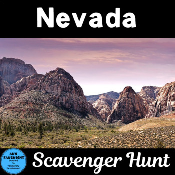 Nevada Scavenger Hunt
