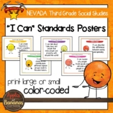 """Nevada Social Studies - """"I Can"""" Third Grade Standards Posters"""