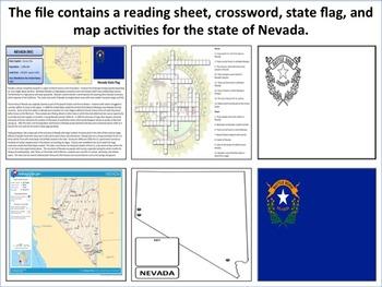 Nevada - State Activity Set