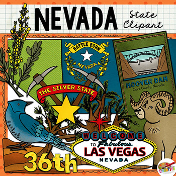 Nevada State Clip Art