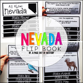 Nevada State Flipbook Interactive Activity for Social Studies