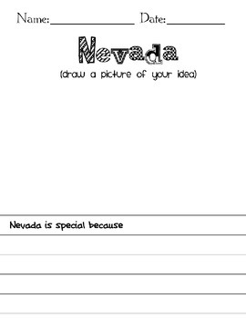 Nevada Student Research Book