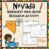 Nevada Webquest Common Core Research Activity Mini Book