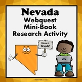 Nevada Webquest Informational Reading Research Activity Mini Book