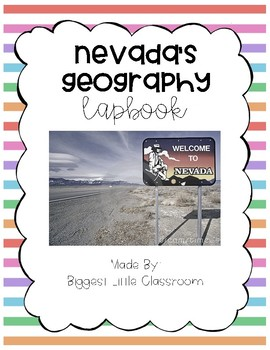 Nevada's Geography Lapbook