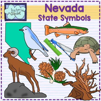 Nevada State Symbols Clipart By Teachers Clipart Tpt