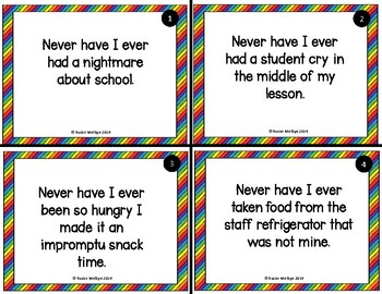 Never Have I Ever Teacher Edition