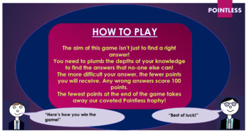 Never Let Me Go Pointless Game!