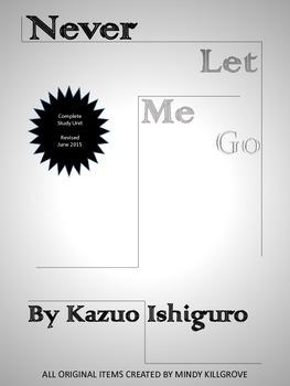 Never Let Me Go by Kazuo Ishiguro Novel Unit