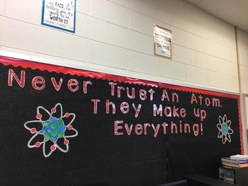 Never Trust an Atom...