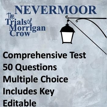 Nevermoor The Trials of Morrigan Crow Test: Editable