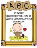 Reading Street 1st Grade Differentiated Spelling Homework
