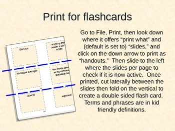 20 Vocabulary Cards - subject: media; mass communication