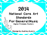New 2014 National Core Arts Standards Posters (Digital and Printable)