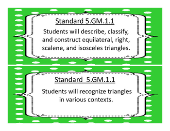2017-2018 5th Grade Oklahoma Math and Language Academic Standards