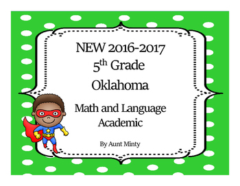 2017-2018 5th Grade Oklahoma Math and Language Academic Standards
