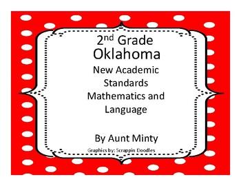 2017-2018 Oklahoma 2nd Grade Math and Language Arts Academic Standards