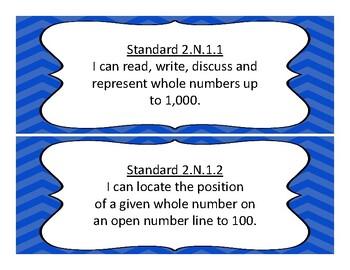 2018-2019 Oklahoma Second Grade Math and Language Academic Standards