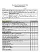 2017-2018  Oklahoma 4th Grade Report Card, Fully editable Single License