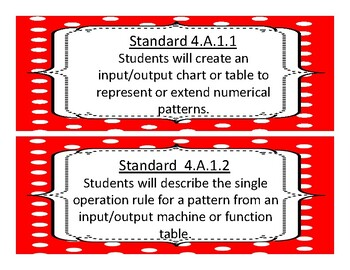 2017-2018 Oklahoma Fourth Grade Math Academic Standards and Objectives