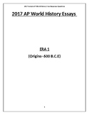 New 2017 AP World History Full Practice Exam 1 (with Answers)