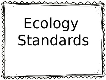 New 2018-2019 Editable Tennessee Science Standards