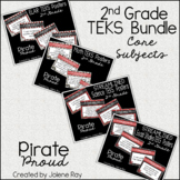 "2nd Grade ""I Can"" TEKS Statement Posters: PIRATE PROUD"