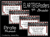 """2019-2020 4th Grade ELAR TEKS """"I Can"""" Statement Posters: PIRATE PROUD"""