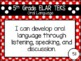 "2019-2020 5th Grade ELAR ""I Can"" TEKS Statement Posters: PRIMARY POLKADOT"