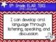 "2019-2020 5th Grade ELAR ""I Can"" TEKS Statement Posters: TEXAS PRIDE"