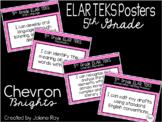 "New 2019-2020 5th Grade ELAR ""I Can"" TEKS Statement Poster"