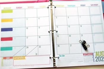 New! 2020-2021 Printable Teacher Planning Calendar ...