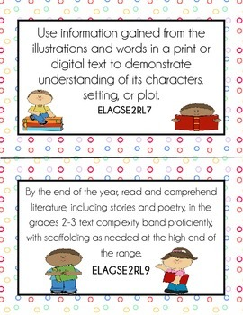 New 2nd Grade Georgia Standards of Excellence - Standards for Posting