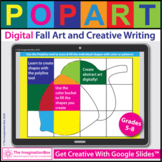 Fall Art and Writing Activities for Google Classroom™ | Di