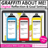 Graffiti All About Me Digital Activity for Google Classroo